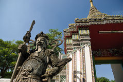 Thailand temple statue Royalty Free Stock Photo