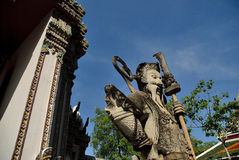 Thailand temple statue Royalty Free Stock Photography