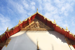 Thailand temple. Temple in thailand on top Stock Photography