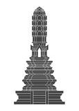 Thailand Temple vector Stock Image