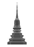 Thailand Temple vector Stock Photo