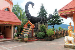 Thailand temple  Wat Phrathat Doi Wao Stock Image