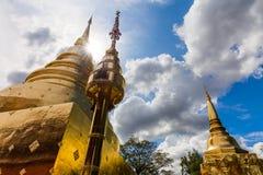 Thailand temple Wat Prasingh Stock Image