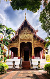 Thailand temple Wat Prasingh Royalty Free Stock Photography