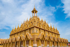 Thailand Temple. Wat ta-sung in Chainat Province, northern Thailand Stock Photos