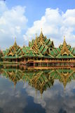 Thailand temples. Temples  in Bangkok of Thailand Royalty Free Stock Photography