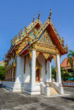 Thailand temples. Temple of Thailand on background sky Stock Images