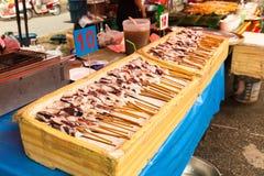 Thailand thai food on the street Bangkok Stock Images