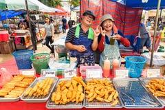 Thailand thai food on the street Bangkok Royalty Free Stock Photos