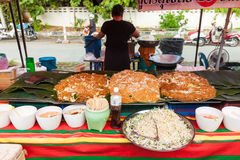 Thailand thai food on the street Bangkok Royalty Free Stock Images