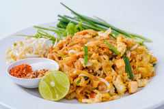 Thailand Thailand fried foods popular with foreigners on the whi Royalty Free Stock Photography