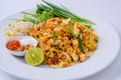 Thailand Thailand fried foods popular with foreigners on the whi Royalty Free Stock Photos