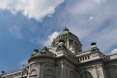 Thailand throne hall. With blue sky Royalty Free Stock Images