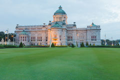 Thailand Throne Hall in Thai Royal Dusit Palace, Bangkok Thailand Royalty Free Stock Photography