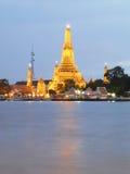 Thailand Tradition Landmark, Wat Arun, Bangkok Royalty Free Stock Photo