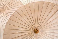 Thailand traditional bamboo umbrella Royalty Free Stock Image