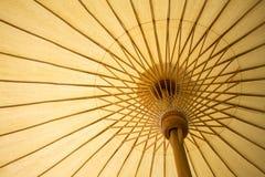 Thailand traditional bamboo umbrella Royalty Free Stock Photography