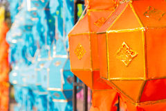 Thailand traditional decorating paper lantern Royalty Free Stock Image