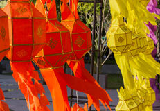 Thailand traditional decorating paper lantern Stock Image