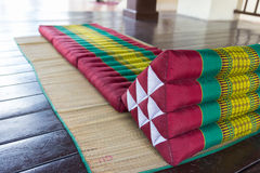 Thailand traditional mattress for spa massage Royalty Free Stock Image