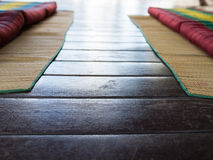 Thailand traditional mattress for spa massage Royalty Free Stock Photography