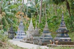 Thailand traditionell Buddhatempel Royaltyfri Foto