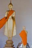 Thailand traditionella Buddhaskulpturer, Chiang Mai Royaltyfri Foto