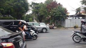 Thailand trafik Fotografering för Bildbyråer