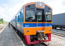 Thailand train. Royalty Free Stock Image