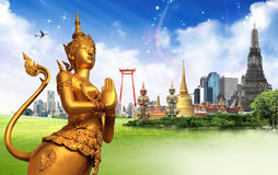 Thailand travel concept Stock Photos