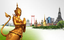 Thailand travel concept. Thailand travel background concept , Thailand Royalty Free Stock Photo