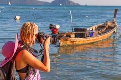 Thailand Travel photographer Royalty Free Stock Image