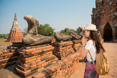 Thailand travel tourist praying hands royalty free stock image