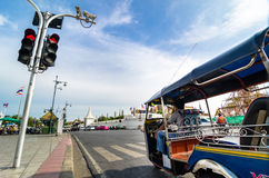 Thailand travel : traffic Royalty Free Stock Photo