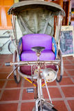 Thailand tricycle, Thai old style transportation. Royalty Free Stock Images