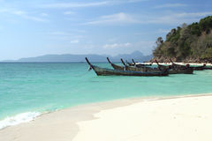 Thailand - tropical beach Royalty Free Stock Photography