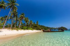 Thailand tropical beach royalty free stock image
