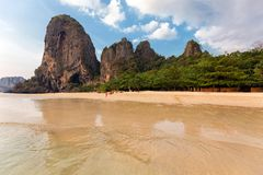 Thailand tropical beach Royalty Free Stock Images