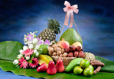 Thailand Tropical Fruits Stock Photo