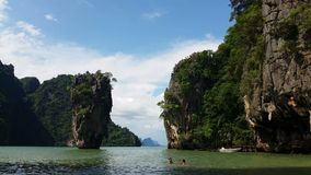 Thailand - Tropical Paradise of James Bond Island Phang-Nga Bay. 