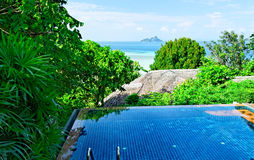 Thailand tropical resort Royalty Free Stock Photo