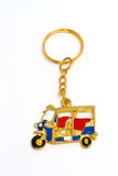 Thailand tuk tuk taxi keychain Royalty Free Stock Photography