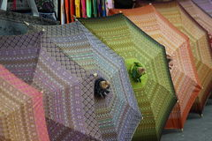 Thailand umbrella Stock Photos