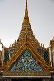 Thailand in van Bangkok de abstracte F wat paleizen van de de regentempel Stock Fotografie
