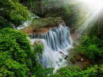 Thailand vattenfall Arkivfoto
