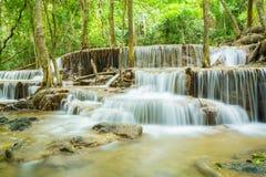 thailand vattenfall royaltyfri fotografi