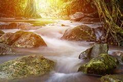 Thailand vattenfall i Saraburi & x28; Jedkod vattenfall & x29; Arkivfoton