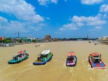 Thailand Venedig av den östliga världen Arkivfoton