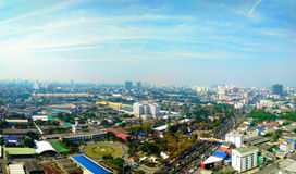 Thailand view from a tall building Royalty Free Stock Image