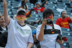 Thailand vs Germany national teams. FIFA Women's World Cup Royalty Free Stock Photo